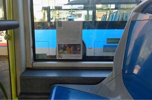 """Mil autobuses de la EMT participan en la campaña """"Libros a la calle"""""""