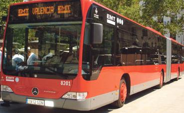 EMT comienza su dispositivo de verano en Valencia