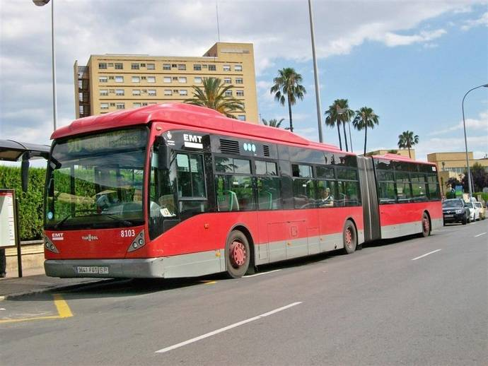 Los ingresos del sector de transporte urbano en España crecerán un 4% en 2017