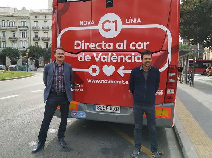EMT de Valencia lanza la campaña para informar de su nueva red