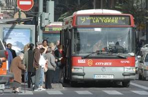 El número de usuarios del transporte público aumenta un 0,4% en octubre
