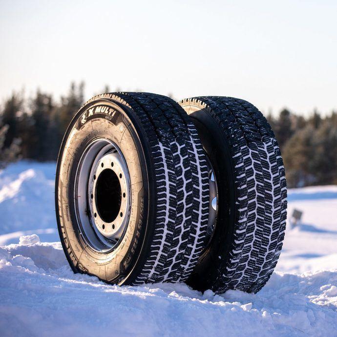 Michelin X Multi Grip, neumático de camión para inviernos severos