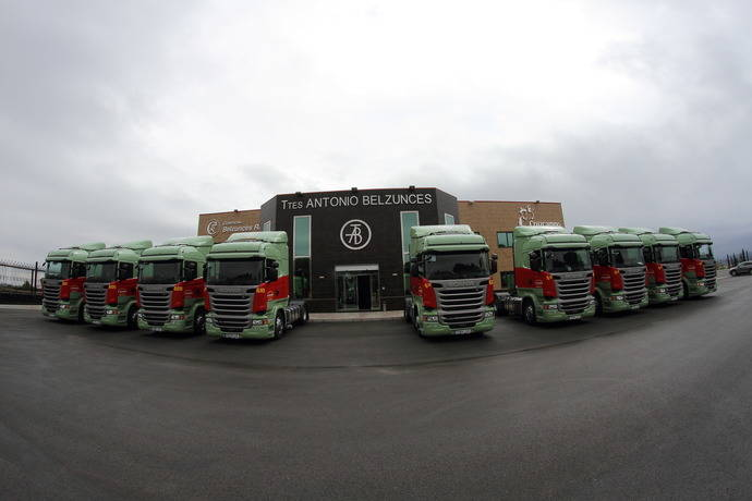 Transportes Antonio Belzunces S.A. vuelve a confiar en Scania