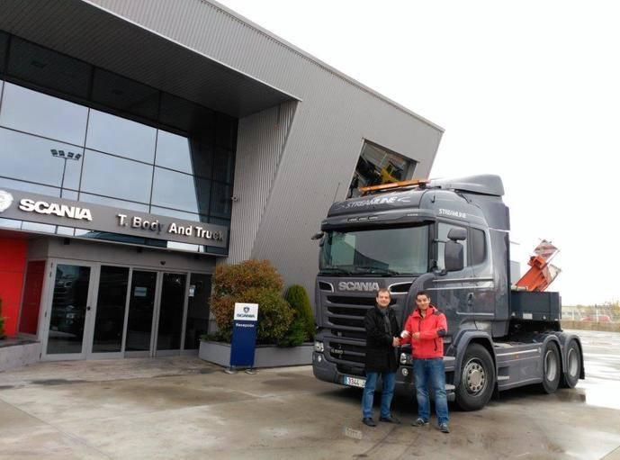 Transportes Blanco cuenta con Scania para sus trabajos más difíciles de transporte de acero