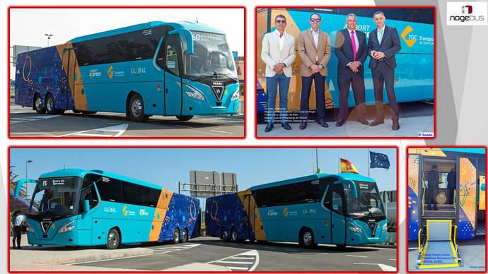 Nogebus entrega 10 autocares a Global