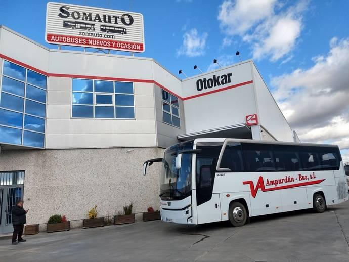 Somauto-Otokar proporciona un Ulyso T a Ampurdán Bus