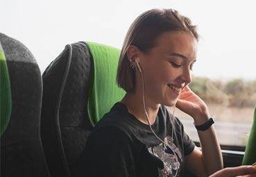 Flixbus instala su servicio de entretenimiento a bordo