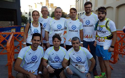 El equipo Indcar oncotrail, unidos contra el cáncer