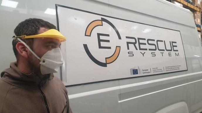 E-Rescue centra su producción en mascarillas y pantallas de protección