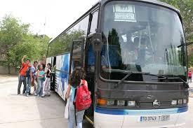 Mascarillas obligatorias en el transporte escolar, a partir de seis años