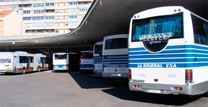 Subida del 43% en la oferta de plazas de autobúses