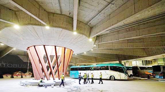 Pospuesta la inauguración de la Estación de Autobuses de San Sebastián