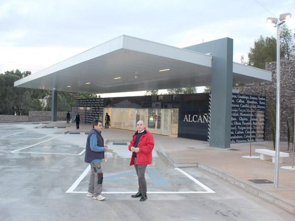 Alcañiz ya cuenta con una estación de autobuses con todas las prestaciones