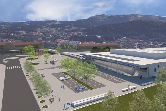 Galicia comienza las obras del complejo intermodal de Pontevedra