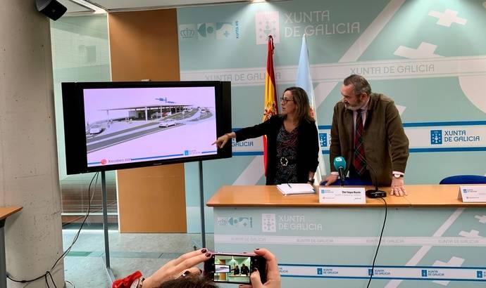Galicia destaca la licitación de los proyectos de la nueva estación intermodal de Lugo