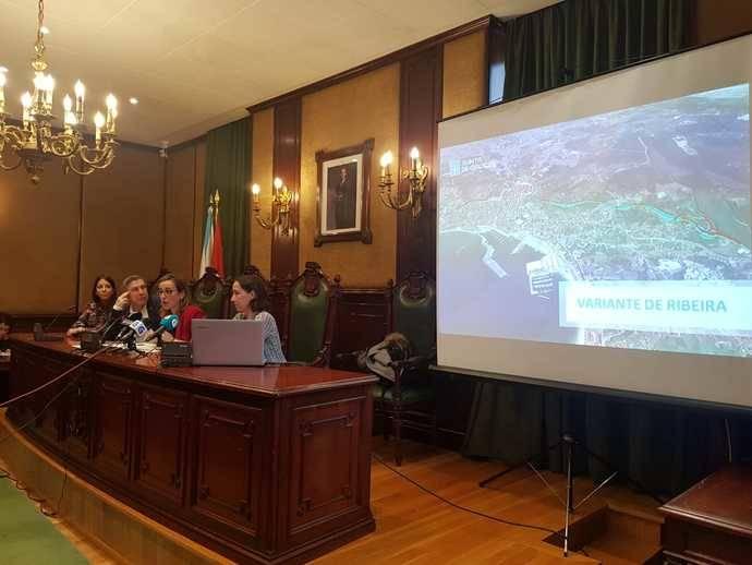 Galicia destaca el inicio información pública del proyecto para construir la variante de Ribeira