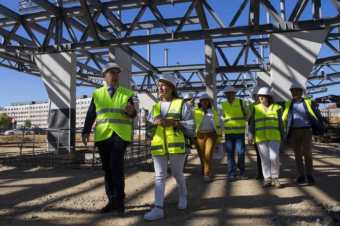 La estación intermodal de Santiago de Compostela está ejecutada ya al 40%