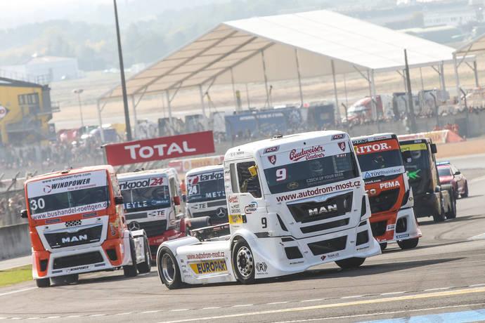 Europart destaca su temporada de Carreras de Camiones