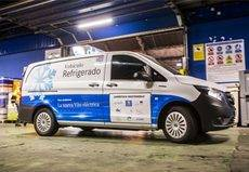 Nueva eVito isotermo refrigerada 100% eléctrica de Mercedes-Benz