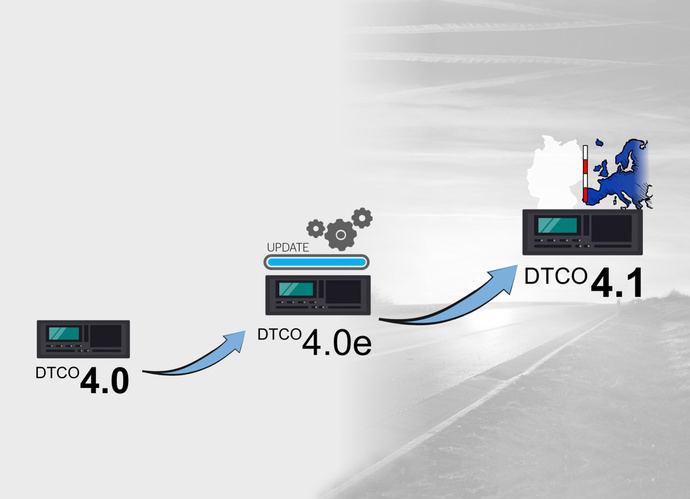 El tacógrafo DTCO 4.1 tendrá funciones de control completamente nuevas