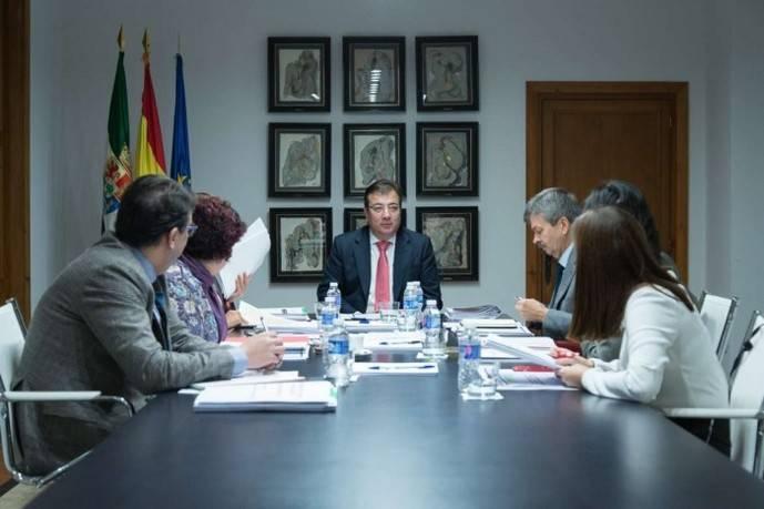Reunión del Consejo de Gobierno de la Junta de Extremadura.