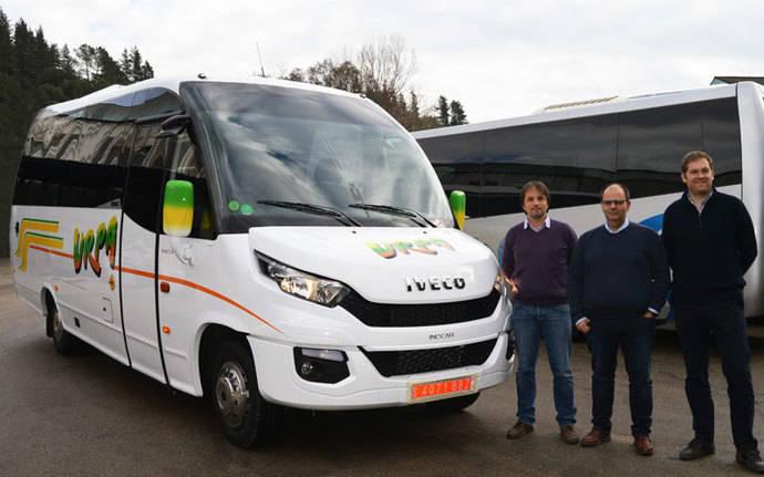 Autocares Urpa incorpora su segundo Wing