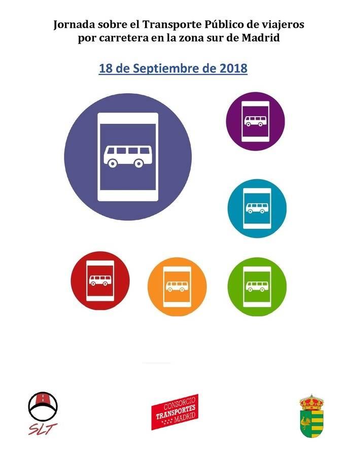 Jornada sobre el transporte público de viajeros por carretera en la zona Sur de Madrid