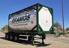 Farcinox apuesta por el multimodal con contenedores cisternas