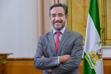 Consejero de Fomento y Vivienda de la Junta de Andalucía, Felipe López.