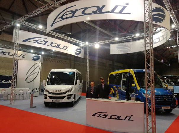 El carrocero Ferqui estuvo presente en la feria Expobus Iberia 2019