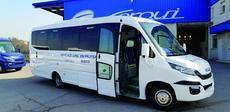 Para Ferqui, no hay secretos en los microbuses entre las 19 y las 37 plazas