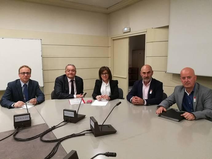 Fetransa comienza reuniones en el Senado en defensa de los módulos