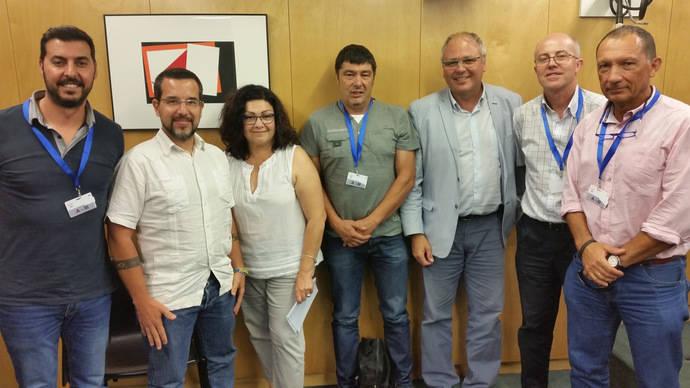 Fetransa se reúne en el Congreso con los representantes del Grupo Podemos