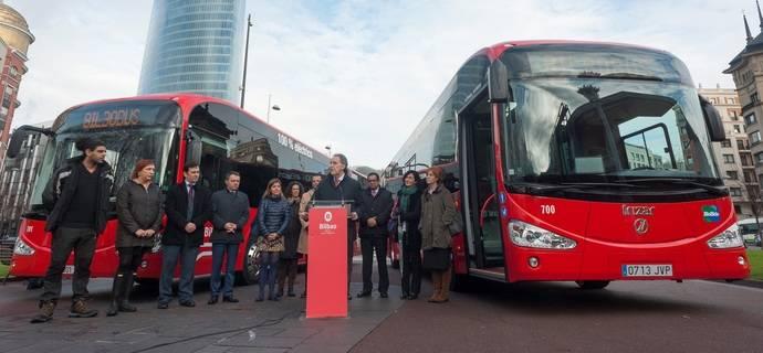 Bilbao incorpora a su flota dos autobuses Irizar i2e 100% eléctricos