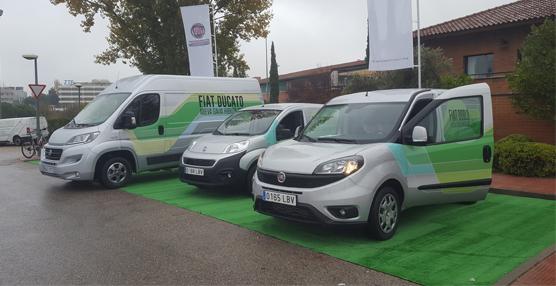 Fiat Professional refuerza su gama híbrida de comerciales de GNC