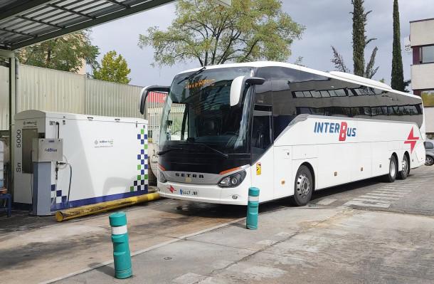 GreenChem: acuerdo para equipar y suministrar AdBlue a Interbus