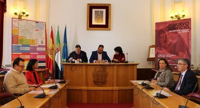 Mérida y Vectalia firman un nuevo contrato