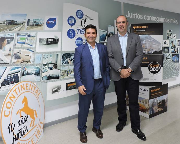TruckOn añade los talleres neumáticos vehículo comercial de Continental