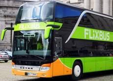 Uno de los autobuses que operan las líneas de Flixbus
