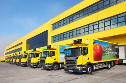 Toda la flota de camiones de Alimerka está ya propulsada por GNL