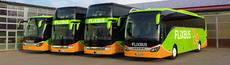 Autobuses de Flixbus.