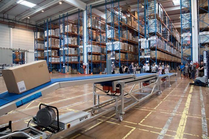FM Logistic amplia una plataforma para logística de Carrefour