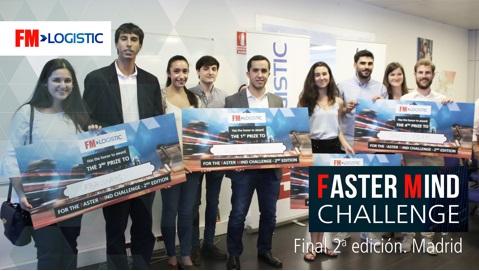"""Alumnos de la Camilo José Cela ganadores del concurso """"Faster Mind Challenge"""""""
