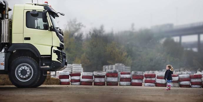 Un camión Volvo sometido a una de las pruebas más duras hasta la fecha