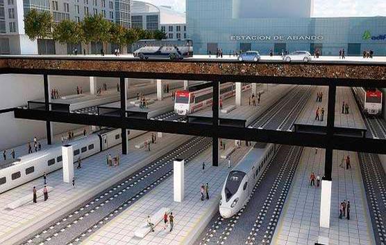 Fomento plantea nuevas medidas para la estación de Bilbao-Abando