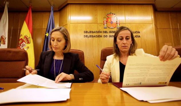 Xunta de Galicia y Ministerio de Fomento firman un convenio para fomentar la intermodalidad a través de la información