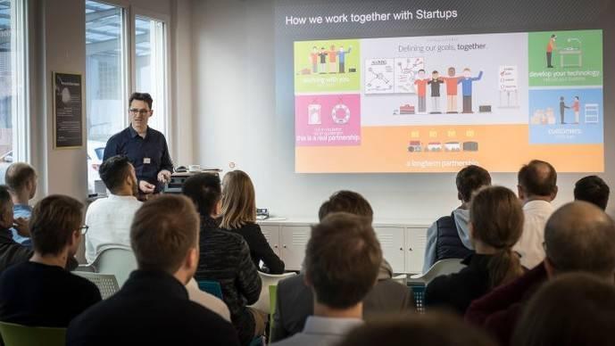 Mercedes concluye su proyecto para startups