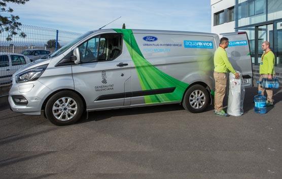 El 'blockchain', el geoperimetraje y las furgonetas híbridas enchufables mejoran la calidad del aire en entornos urbanos