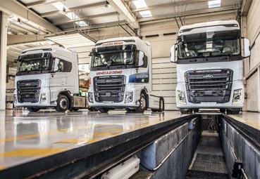 Ford Trucks España presenta tres paquetes de mantenimiento