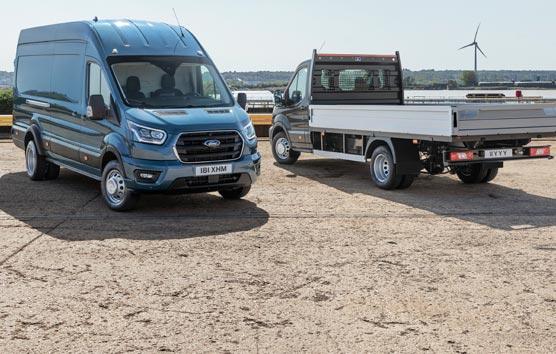 Ford presenta la nueva Transit de 5 toneladas, su modelo más resistente